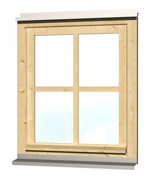 Skan Holz Einzelfenster 69,1 x 82,1 cm, Fichte