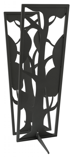 SvenskaV Kaminholzregal Baum, Stahl, schwarz