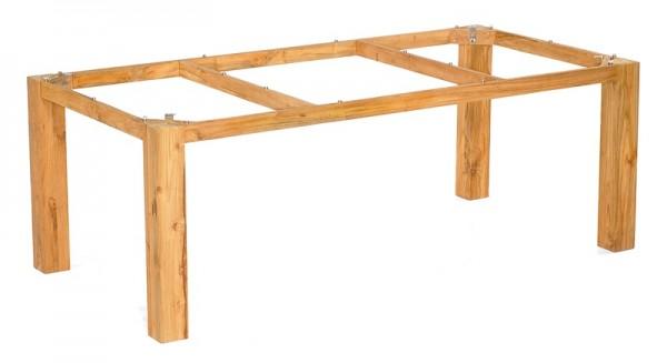 Sonnenpartner Tisch Base, Pure Teak, 200 x 100 cm