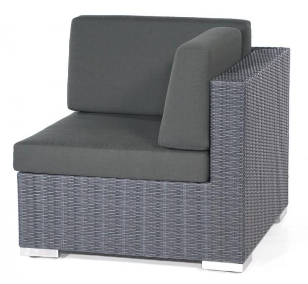 Abgebildete Sitz- und Rückenauflage nicht im Lieferumfang enthalten.