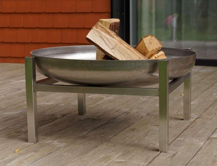 Für Außenküche Xxl : Svenskav design feuerschale cube größe super xxl edelstahl Ø