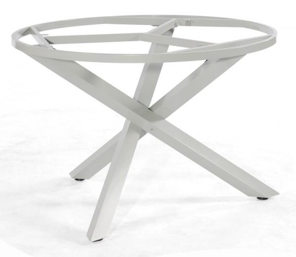 Sonnenpartner Tisch Base-Spectra rund, Aluminium silber, Ø 134 cm