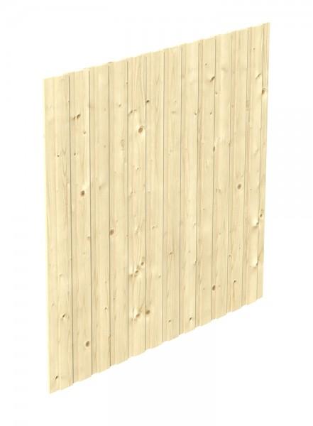 Skan Holz Seitenwand 230 x 220 cm, Deckelschalung, Nadelholz
