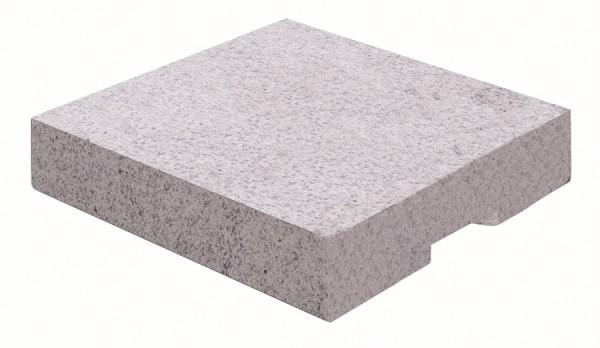 Doppler 2er Set Eco Granit Platten für Schirmständer, á 55 kg, 50 x 50 cm