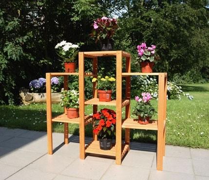 Abgebildete Blumen-Deko nicht im Lieferumfang enthalten.