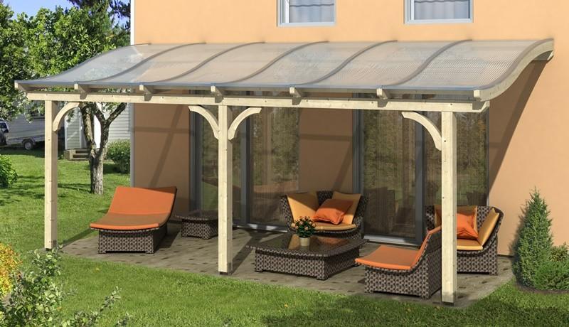 skanholz terrassenuberdachung, skan holz terrassenüberdachung venezia 648 x 339 cm, leimholz, Design ideen
