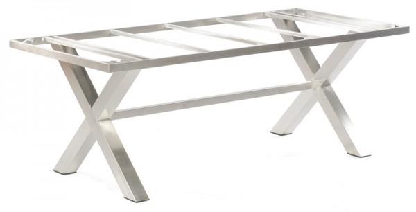 Sonnenpartner Tisch Base-Spectra, Edelstahl, 200 x 100 cm