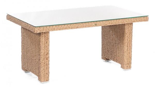 Sonnenpartner Dining-Tisch Residence, Kunststoffrundgeflecht, Hyazinthoptik