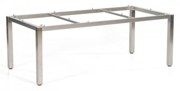 Sonnenpartner Tisch Base, Edelstahl, 200 x 100 cm
