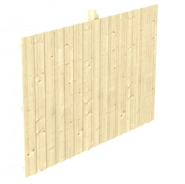 Skan Holz Rückwand 341 x 220 cm, Deckelschalung, Nadelholz