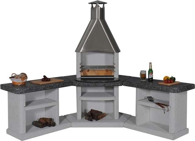 Außenküche Mit Grill : Outdoorküche bau beispiele und fertige außenküchen youtube avec