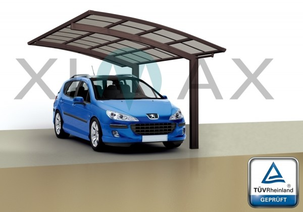 Ximax Design Carport Portoforte Typ 80, Aluminium, 4954x3012 mm