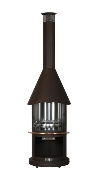 Firestar Edelstahl Grillkamin / Gartenkamin DN 650 BrownSugar, Ø 65 cm