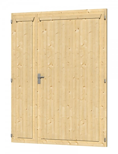 Skan Holz Doppeltür 148 x 198 cm, Fichte
