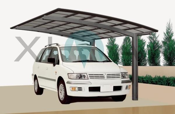 Ximax Design Carport Portoforte Typ 110, Aluminium, 5558x2405 mm