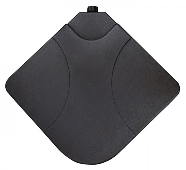 Derby 4er Set Füllplatten für Platten-Schirmständer, 50 x 50 cm