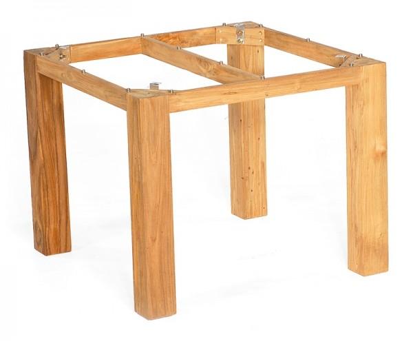 Sonnenpartner Tisch Base, Pure Teak, 90 x 90 cm