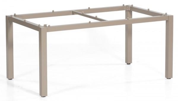 Sonnenpartner Tisch Base, Aluminium champagner, 160 x 90 cm