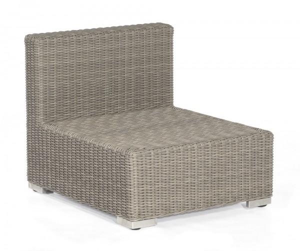 Sonnenpartner Lounge-Mittelmodul Residence, Kunststoffgeflecht, stone-grey