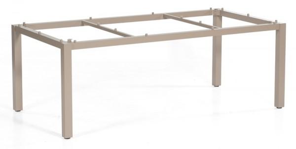 Sonnenpartner Tisch Base, Aluminium champagner, 200 x 100 cm
