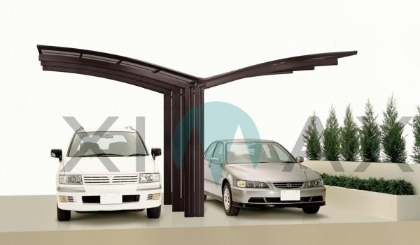 Ximax Design Carport Portoforte Typ 80 Y-Ausführung, Aluminium, 4954x5428 mm