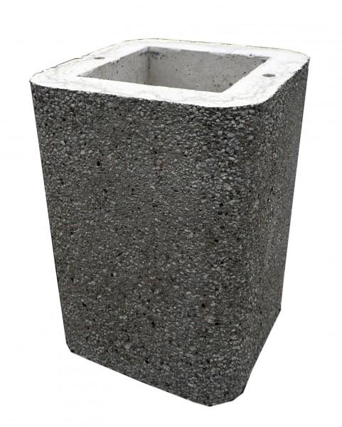Wellfire Kaminverlängerung / Haubenverlängerung Siesta schwarz/weiß, 40 cm