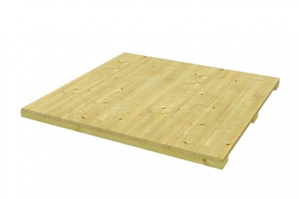 Skan Holz Fußboden für CrossCube Größe 3, 253 x 253 cm, 19 mm