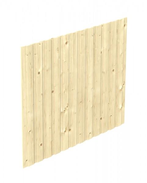 Skan Holz Seitenwand 230 x 180 cm, Deckelschalung, Nadelholz