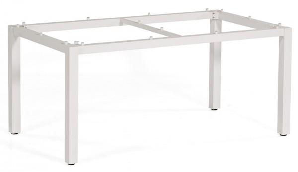 Sonnenpartner Tisch Base, Aluminium weiß, 160 x 90 cm