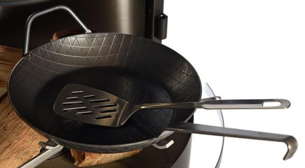 Firestar Gusspfanne für Grillkamin / Gartenkamin DN 700 / Swing / Swing Glas / Cube / DN 800, Eisen