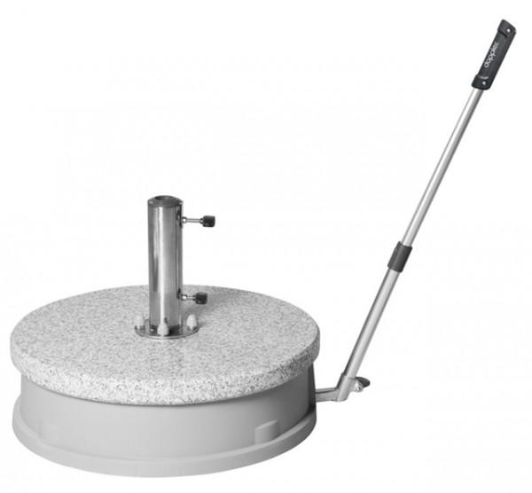 Doppler Granitsockel Expert Easy Move, fahrbar, 30 kg, bis 60 mm ø