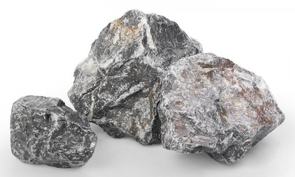 Gabionensteine / Bruchsteine Vogesen, Körnung 60-120 mm, grau-weiß-braun