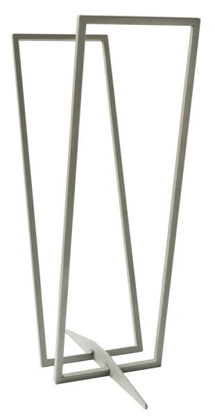 SvenskaV Kaminholzregal Standard, Stahl, silber