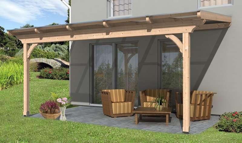 skanholz terrassenuberdachung, skan holz terrassenüberdachung ravenna 541 x 350 cm, douglasie, Design ideen