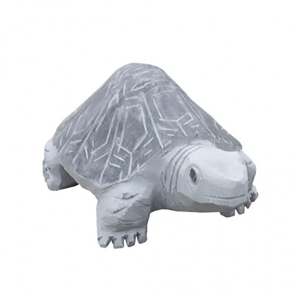 Granit Skulptur Schildkröte, grau