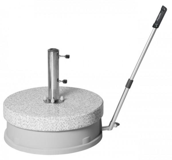 Doppler Granitsockel Expert Easy Move, fahrbar, 70 kg, bis 60 mm ø