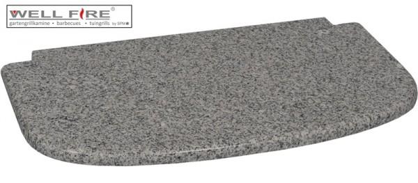 Wellfire Granitplatte, grau