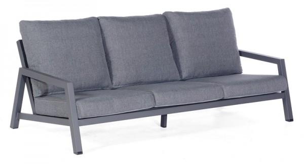 Sonnenpartner Lounge-Sofa Empire, Aluminium anthrazit