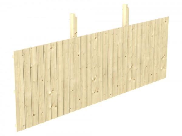 Skan Holz Rückwand 550 x 180 cm, Deckelschalung, Nadelholz