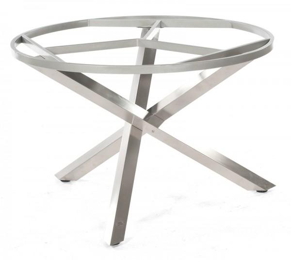 Sonnenpartner Tisch Base-Spectra rund, Edelstahl, Ø 134 cm