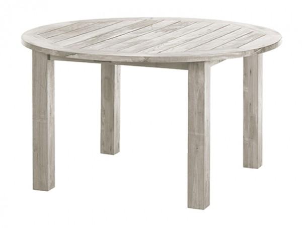 Diamond Garden Tisch Belmont rund, Recycled Teak Seawash, Ø 140 cm
