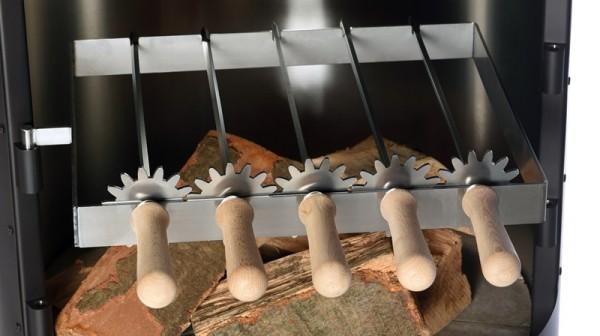 Firestar Grillspieße für Grill- / Gartenkamin DN 700 / Swing / Swing Glas / Cube / DN 800, Edelstahl