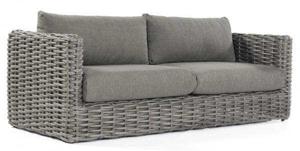 Sonnenpartner Lounge-Sofa Sands, Kunststoffgeflecht, charcoal