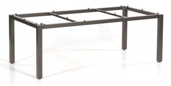 Sonnenpartner Tisch Base, Aluminium anthrazit, 200 x 100 cm