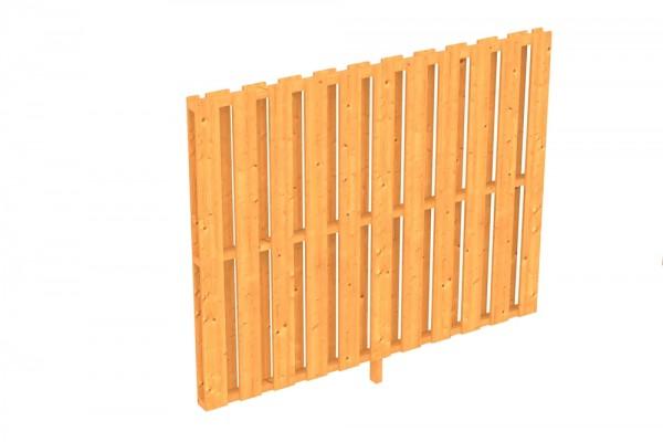 Skan Holz Seitenwand 205 x 160 cm, Deckelschalung, für Douglasien-Terrassenüberdachungen