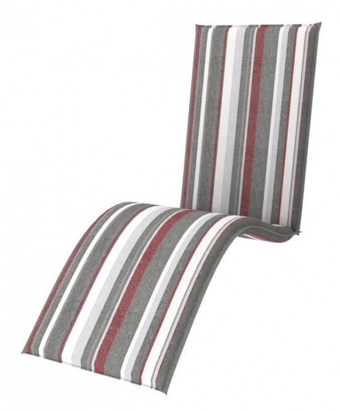Doppler 4er Set Relaxliege Sitzauflagen living, Dess. 9133