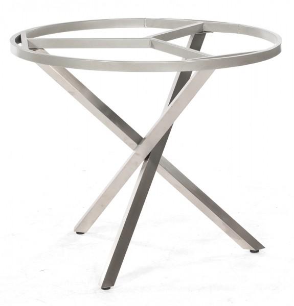 Sonnenpartner Tisch Base-Spectra rund, Edelstahl, Ø 100 cm