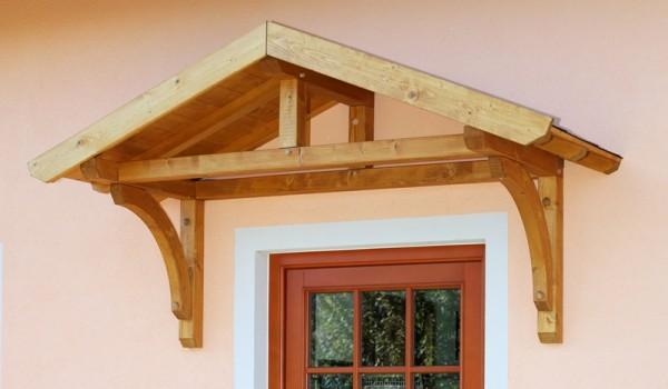 Skan Holz Design-Vordach Stettin, Einzeltür