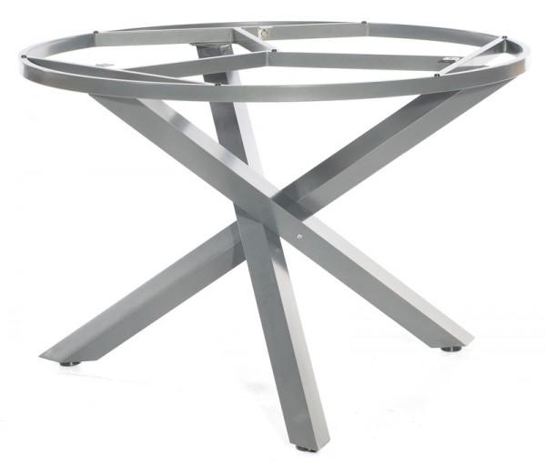 Sonnenpartner Tisch Base-Spectra rund, Aluminium anthrazit, Ø 134 cm