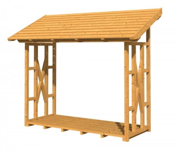 Skan Holz Holzunterstand Paul 2, 290 x 126 cm, Douglasie